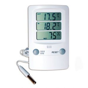 Indicadores de Temperatura y Humedad