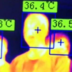 Cámaras IR de Temperatura de uso Clínico